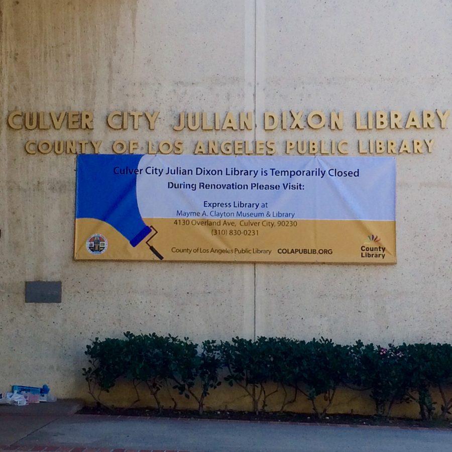 Julian+Dixon+Library+Closes+for+Renovation
