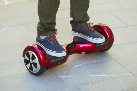 New Laws Passed on Hoverboards