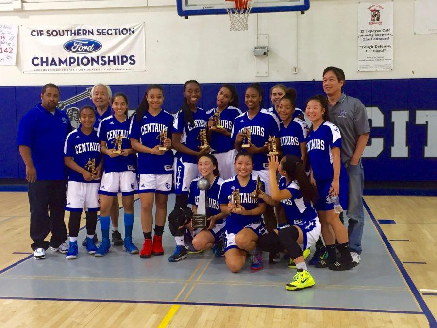 Girls Varsity Basketball Win their Fifth Consecutive League Championship