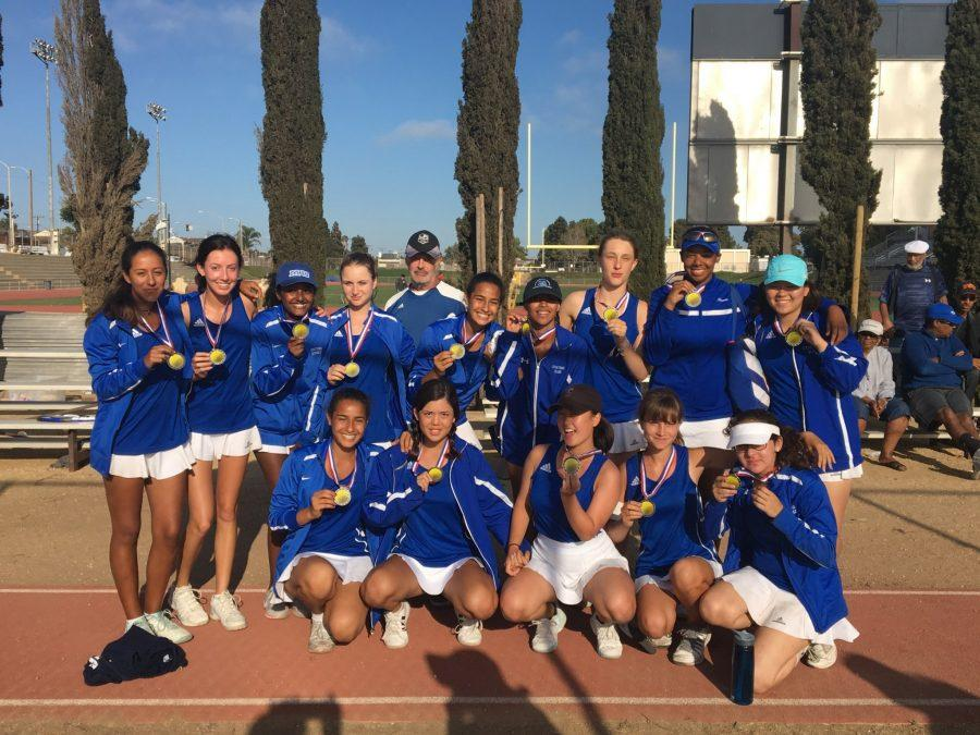 Girls Tennis Wins Eight Consecutive Games