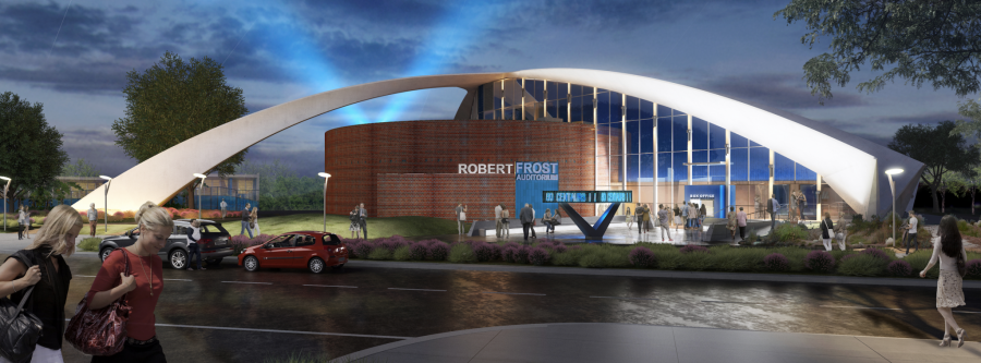 Plans for new Robert Frost exterior