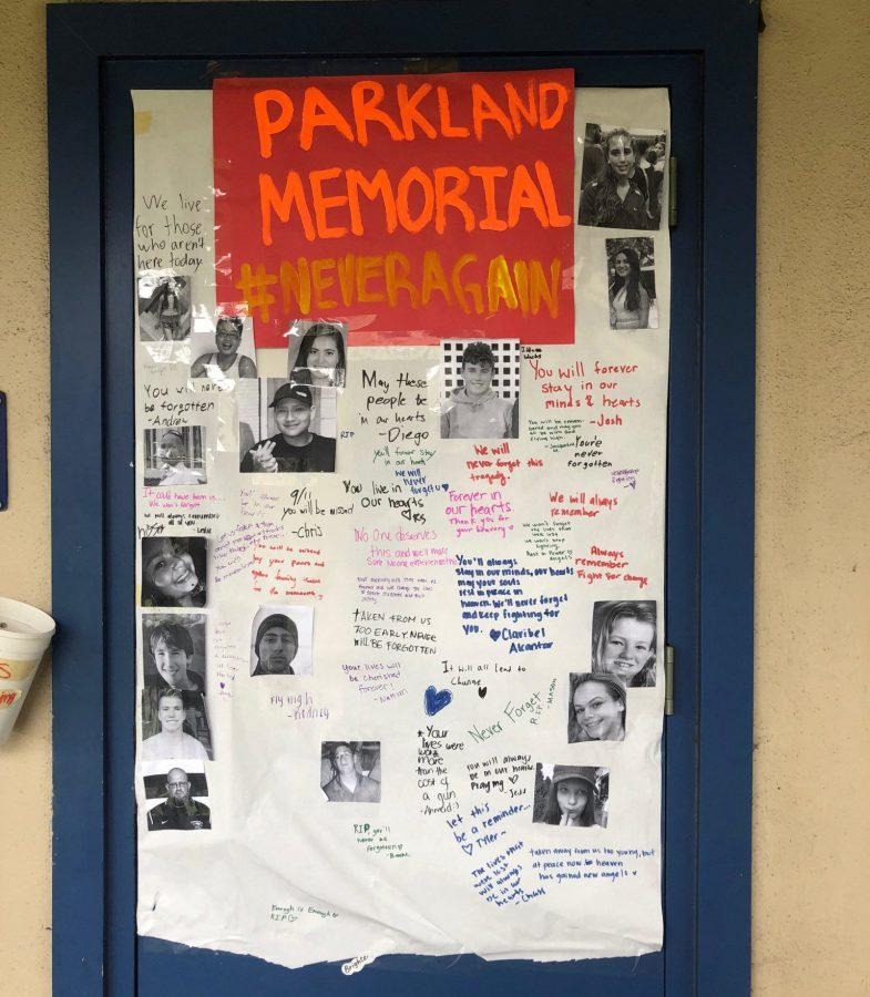 CCHS Remembers the Parkland Tragedy After One Year