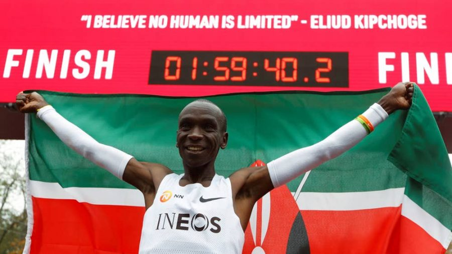 Eliud Kipchoge Breaks 2 Hours in the Marathon