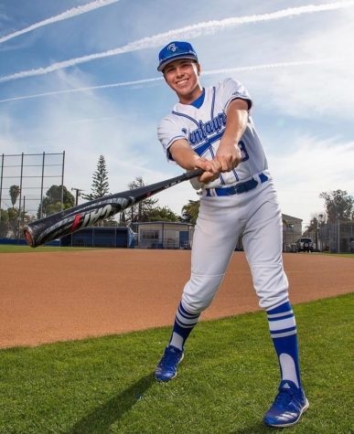 College-Bound CCHS Senior Swings for the Fences