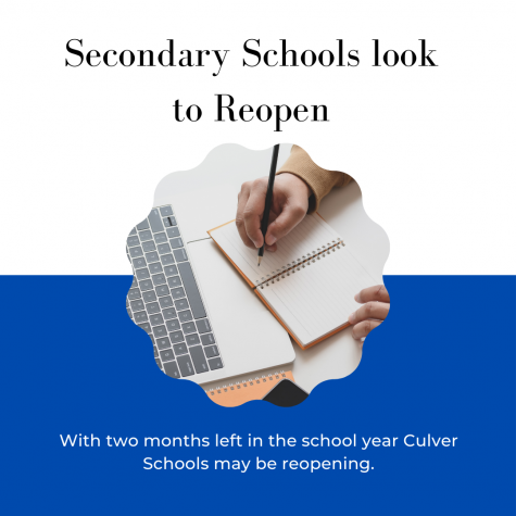 Ready or Not? Secondary Schools Look to Reopen