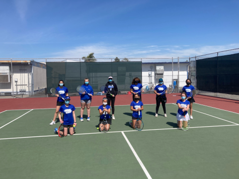 CCHS Tennis Team Starts Competitive Play