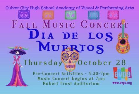 Fall Concert: Día de los Muertos